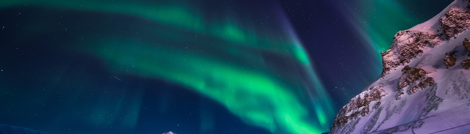 Northern Lights in Longyearbyen