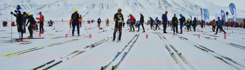 ski marathon in longyearbyen