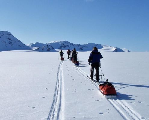 wilderness camp by Svalbard Wildlife Expeditions