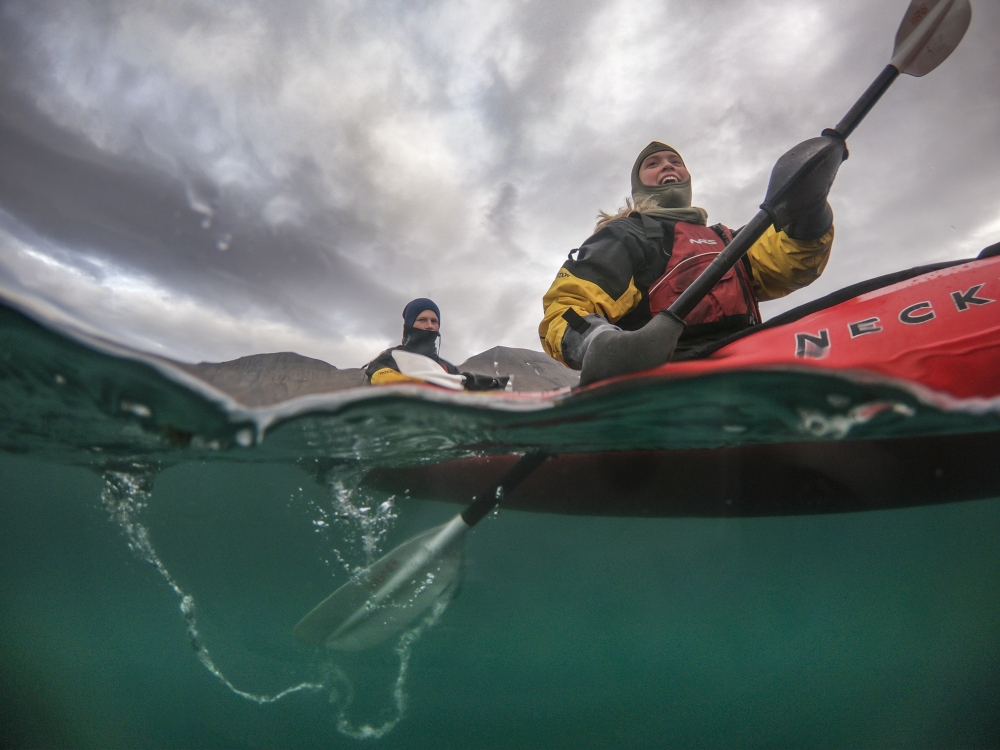 Kayak in Artic Nature with Svalbard Wildlife Expeditions