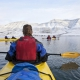 Adventsfjorden kayak adventure: Daytrip with beach visit